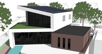 Energieneutrale villa Zilverreiger Hendrik Ido Ambacht (Zuid-Holland)