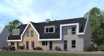 4 energieneutrale rijwoningen Oud-Beijerland