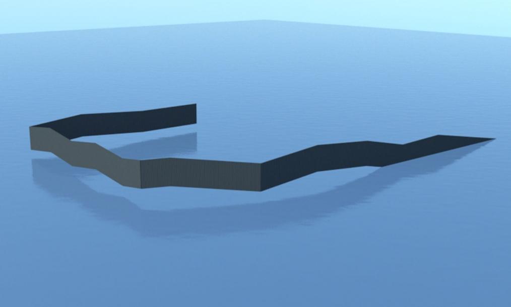 3D impressie van beoogde concept