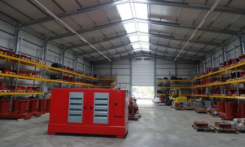 loods bedrijfshal marine equipment Werkendam