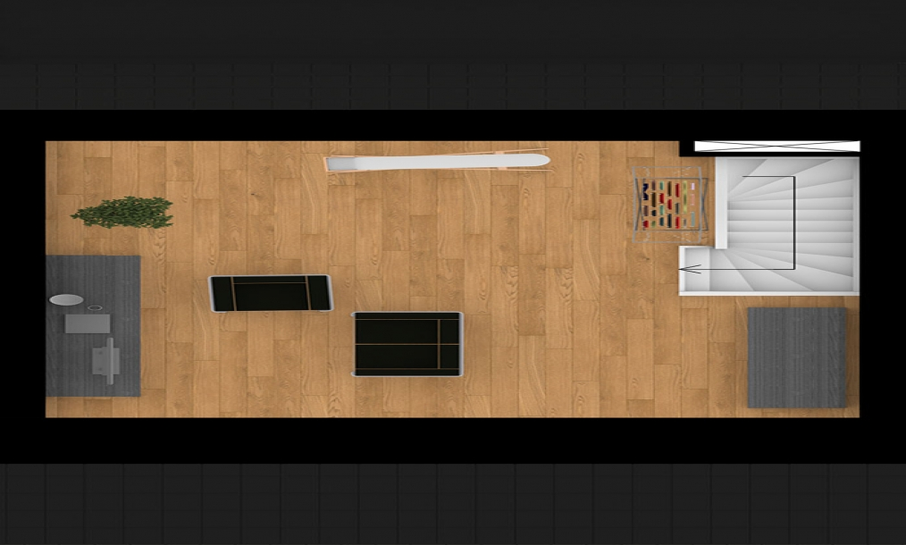 Tweede verdieping ruimte energieneutrale starterswoningen in project Natuurlijk Wissenkerke