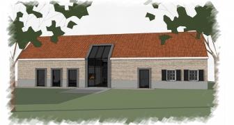 Verbouw woonboerderij, 's-Heerenhoek (Zeeland)