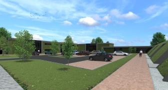 Herontwikkeling naar energieneutrale kantoren Kleverskerkseweg, Middelburg (Zeeland)